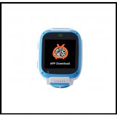 Детские Смарт часы UNITA с GPS  T100 синие   с камерой!