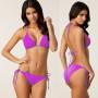 Яркий раздельный купальник для женщин 5 цветов код 2 (розовый)
