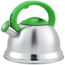 Чайник со свистком Unique UN-5305 (3,5 л) из нержавеющей стали, для всех типов плит