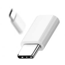 Переходник-адаптер OTG для Type C Белый (hub_wcqy41935)
