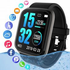 Смарт-часы Bracelet  с трекером с сенсорным экраном, водонепроницаемые