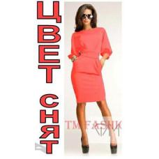 Изысканное платье выше колена код: 810