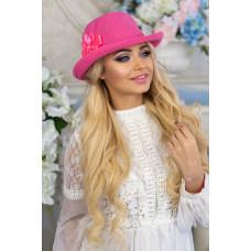 Шляпа-федора «Элисса» (малиновый) Braxton