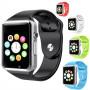 Умные часы Smart Watch A1 красные Sim карта + камера
