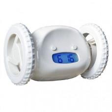 Убегающий будильник на колесиках HLV Alarm Clocky Run White (111670)