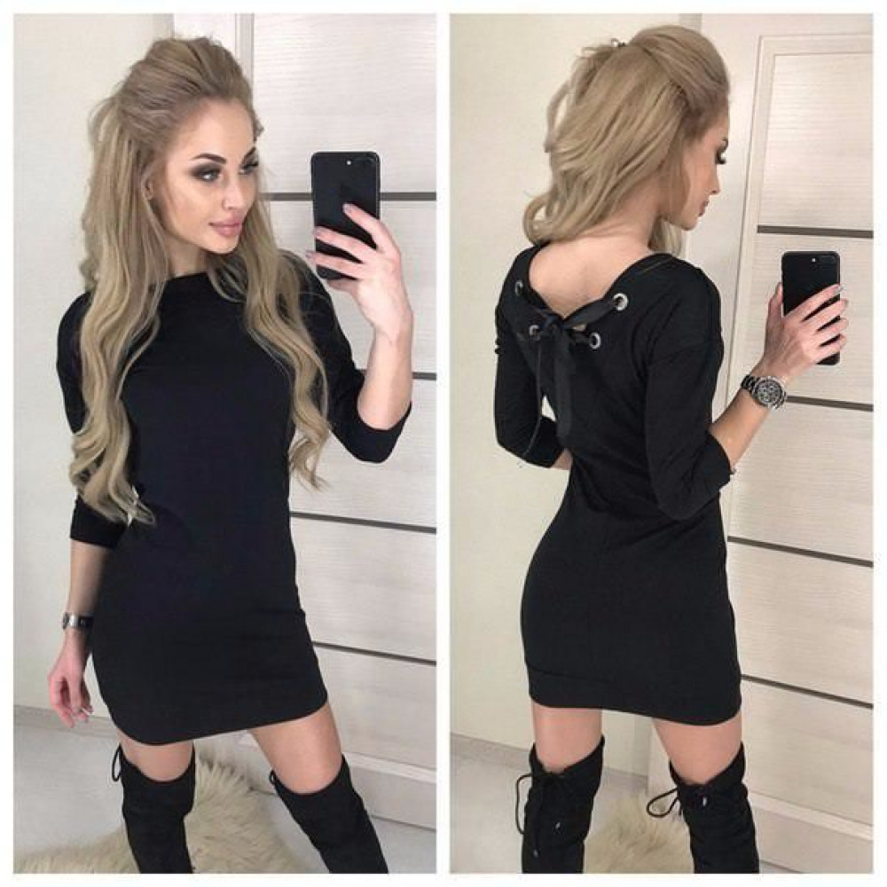 """Платье женское """"Leylaa"""" с вырезом на спине"""