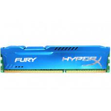 Оперативная память Kingston HyperX FURY DDR3-1600 8192MB PC3-12800 Blue (HX316C10F/8)