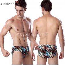 Плавки мужские купальные р XL цветная полоса MS011