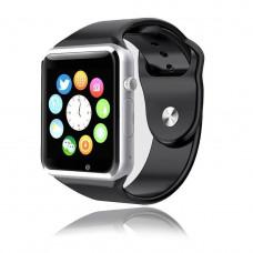 Умные часы Smart Watch A1 черные Sim карта + камера