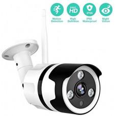 Водонепроницаемая камера безопасности 1080P с P66, 2-сторонней аудиосистемой, Wi-Fi и сдатчиком движения AI