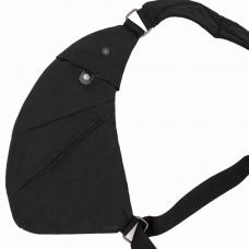 Сумка-мессенджер через плечо 2Life Crossbody 3 Темно-серый (nr1-411)