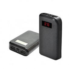Power Bank REMAX PRODA 10000mAh 2USB(1A+2A), цифровой дисплей, фонарик 1LED -132 (3000mAh)