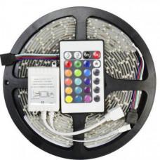 Универсальная светодиодная лента SMD LED RGB 5050 + пульт управления 5 м (25599877)