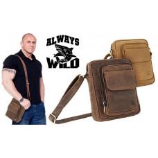 Плотная Качественая сумка Кожа БУЙВОЛА Always Wild