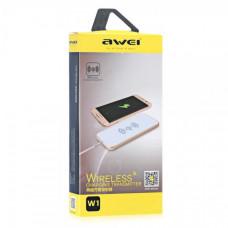 Адаптер для беспроводной зарядки телефона AWEI W1 + WIRELESS CHARGE