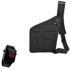 Сумка через плечо в комплекте с наручными часами 2Life Crossbody (n-99)