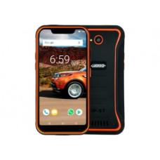 Защищенный противоударный мобильный Land Rover X3 orange