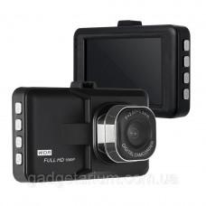 Видеорегистрато в авто DVR 626 c углом обзора 120 градусов, камерой  3.0Mp, и циклической записью