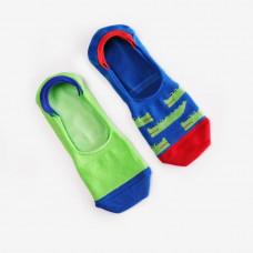 Носки-следы женские Dodo Socks набор Croco 36-38 набор 2 пары (009830)