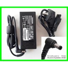 Блок Питания Зарядка для Ноутбука TOSHIBA - 3.42А (с сетевым кабелем)