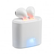 Bluetooth наушники-гарнитура i7S HBQ iX TWS i7R Белые (010177788)