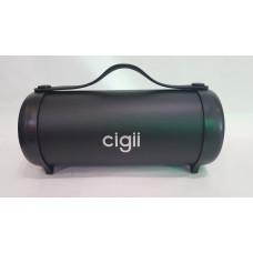 Портативная беспроводная колонка Cigii S22E, Bluetooth акустика FM MP3 AUX USB