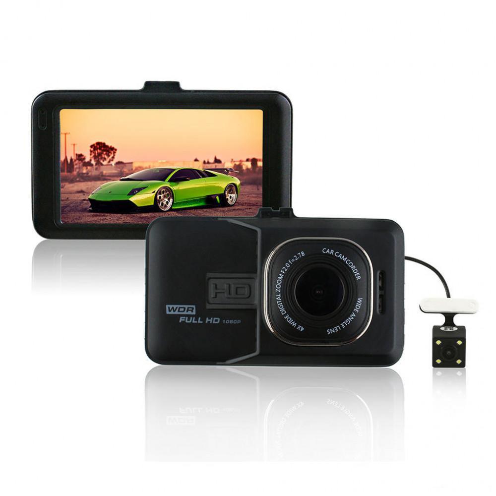 Видиорегистратор  FH06H + камера заднего вида + Full HD камера 5 Мп и фото 12Мп