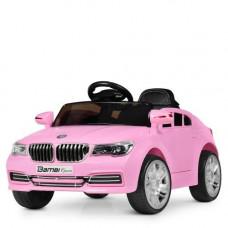 Электромобиль детский  розовый