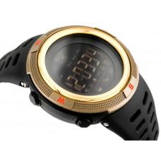 Спортивные умные часы Skmei Smart 1250 золотые 50 m водонепроницаемый (5АТМ)