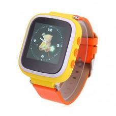 Детские часы с GPS Smart Baby Watch Q80 (Q60s) Желтые (tdx0000277)