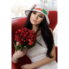 Шляпа «Марсель роза» (белый) Braxton