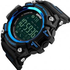 Спортивные умные часы Skmei Smart 1227 синие  50 m водонепроницаемый (5АТМ)
