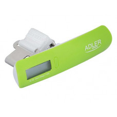 Электронные весы багажные кантер для багажа Adler AD 8143 Greenм(008902)