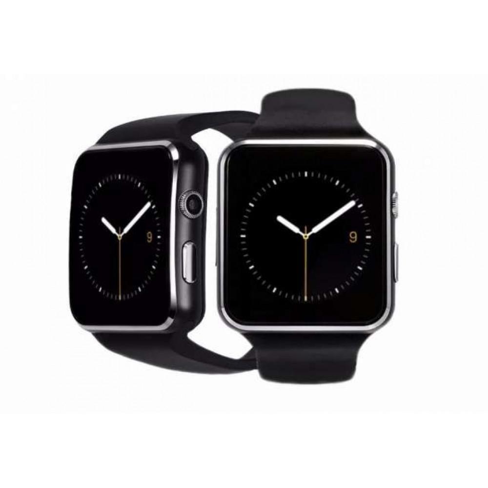 Часы Smart Watch Phone X6 Black на Сим карту + Камера