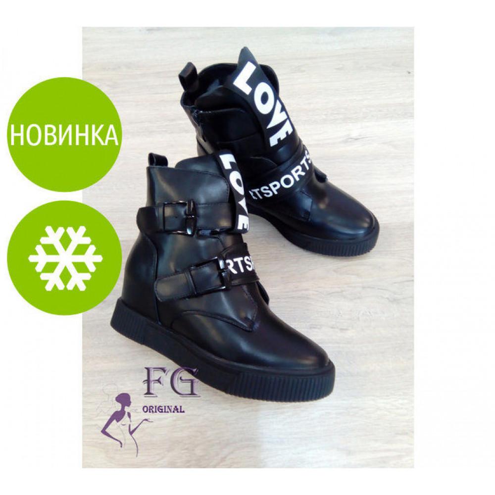 """Стильные зимние ботинки сникерсы """"Love Sport"""""""