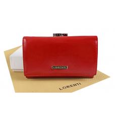 Кошелек женский фирменный Lorenti  (красный) Италия New 2020