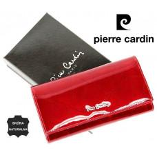 Шикарный женский кошелек Pierre Cardin Франция кожа код 318