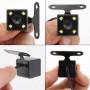 Водостойкая Автомобильная Камера заднего вида LM-05 HD с ИК и парковочной разметкой навесная, кабеля в комплекте.