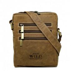 Мужская стильная сумка из буйволиной кожи Always Wild код 250