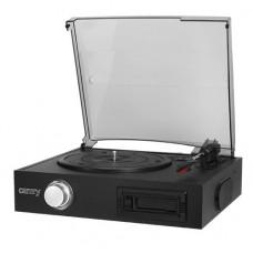 Проигрыватель ретро - виниловых дисков Camry CR 1149 Черный (CR 1149)