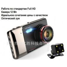 Видеорегистратор Car Cam 5102 + камера заднего вида + Full HD камера 12 Мп