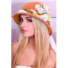 Шляпа «Сафари роза» (оранжевый) Braxton