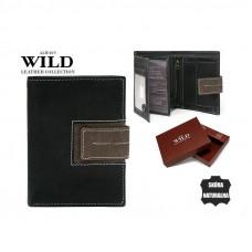 NEW 2020 Кожаный мужской кошелек бренд Always Wild