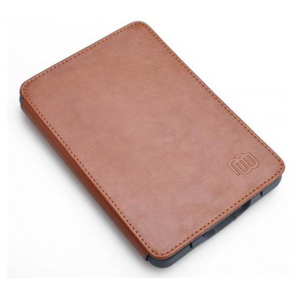 MB Leather Cover Brown with LED light for Kindle Touch (MB29208)