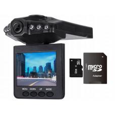 Автомобильный регистратор с камерой HD, MICRO SD  32GB