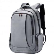 Рюкзак городской Tigernu с USB T-B3143 20 л Светло-серый (011064)