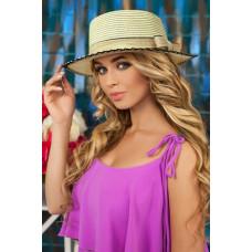 Шляпа-канотье «Моник» (светло-бежевый) Braxton