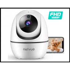 Камера для животных, и не только  Netvue 1080P FHD 2,4 ГГц WiFi  ночное видение, облачное хранилище