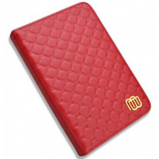 MB Leather Cover Quilted Red with LED light for Kindle 5/Kindle 4 (MB28832)