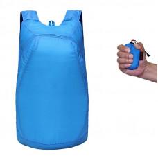 Рюкзак складывающийся Синий (pk02-b)